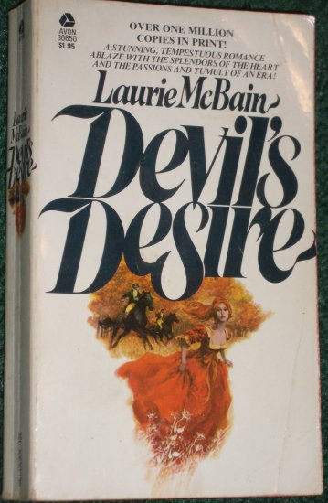 Devil's Desire by LAURIE McBAIN Historical Regency Romance 1975