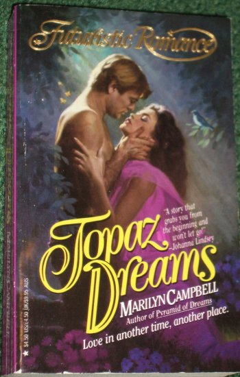 Topaz Dreams by MARILYN CAMPBELL Futuristic Romance 1992