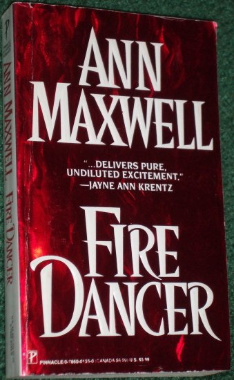Fire Dancer by ANN MAXWELL Paranormal Futuristic Romance