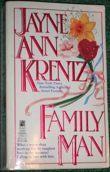 Family Man by JAYNE ANN KRENTZ Captivating Modern Romance 1992