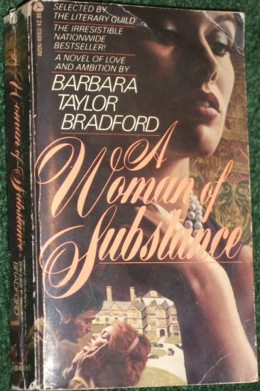 A Woman of Substance by BARBARA TAYLOR BRADFORD A Novel of Love and Ambition PB 1980