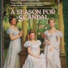 A Season for Scandal by MARIAN DEVON Fawcett Historical Regency Romance 1992