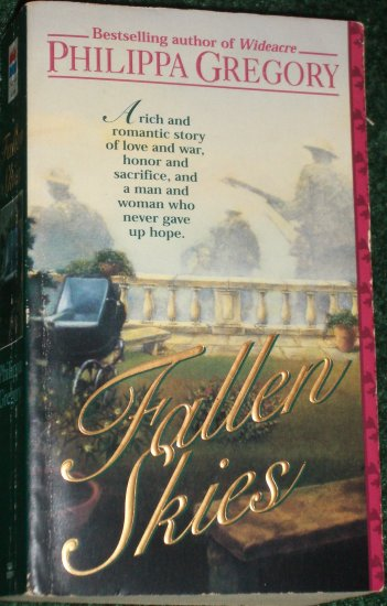 Fallen Skies by PHILIPPA GREGORY Post WWI Romance 1995