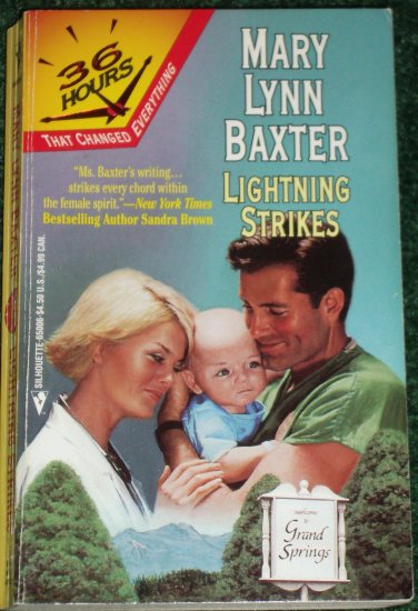 Lightning Strikes by MARY LYNN BAXTER Romance 1997