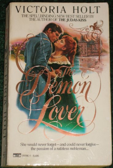 The Demon Lover by Victoria Holt Romantic Suspense Paperback 1984