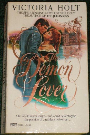The Demon Lover by Victoria Holt Romantic Suspense Paperback 1984