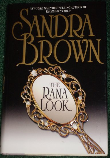 The Rana Look SANDRA BROWN Sexy Romance Hardback Dustcover 2002