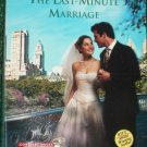 The Last-Minute Marriage by MARION LENNOX Harlequin Romance 3832 Feb05 Contract Brides