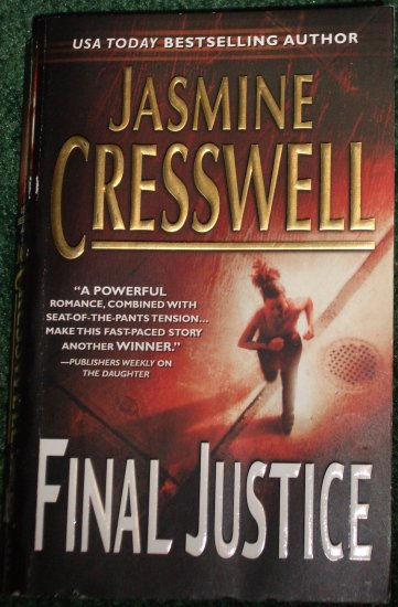 Final Justice by JASMINE CRESSWELL Romantic Suspense PB 2005