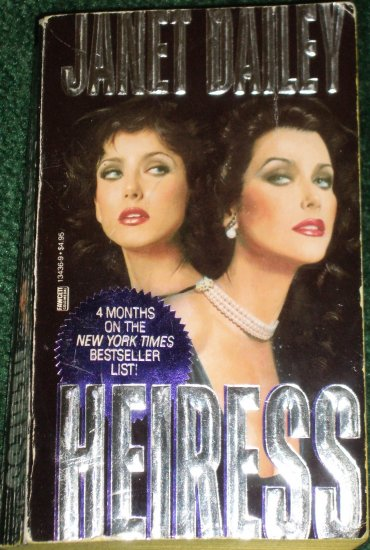 Heiress by Janet Dailey Contemporary Romance 1988 Texas Series
