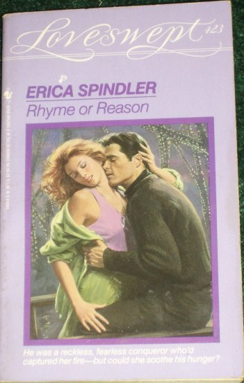 Rhyme or Reason by ERICA SPINDLER Loveswept Romance 423 1990