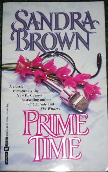 Prime Time by SANDRA BROWN Romance PB 1995