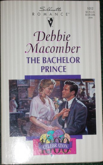 The Bachelor Prince by DEBBIE MACOMBER Silhouette Romance 1012 Jun94