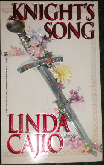 Knight's Song by LINDA CAJIO Historical Medieval Romance 1996
