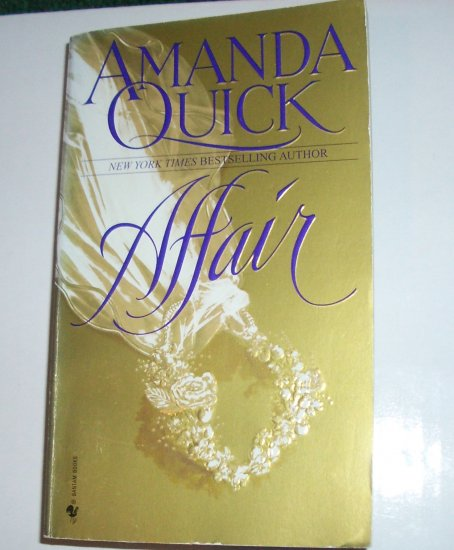 Affair by AMANDA QUICK Historical Regency Romance 1998