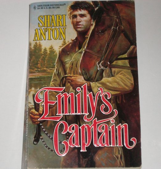 Emily's Captain by SHARI ANTON Harlequin Historical Civil War Romance No 357 1997