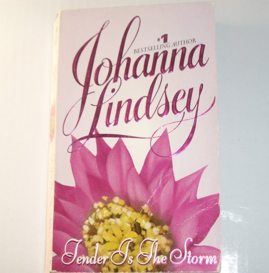 Tender is the Storm by JOHANNA LINDSEY Historical Western Romance 1997 Mail Order Bride