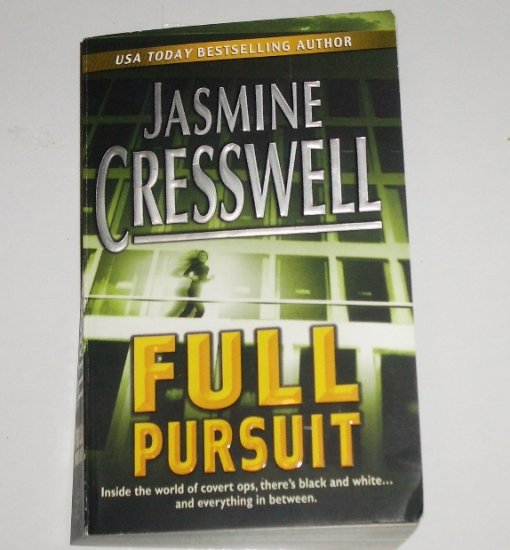 Full Pursuit by JASMINE CRESSWELL Romantic Suspense Paperback 2004