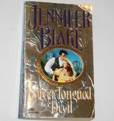 Silver-Tongued Devil by JENNIFER BLAKE Historical Western Romance Paperback 1996
