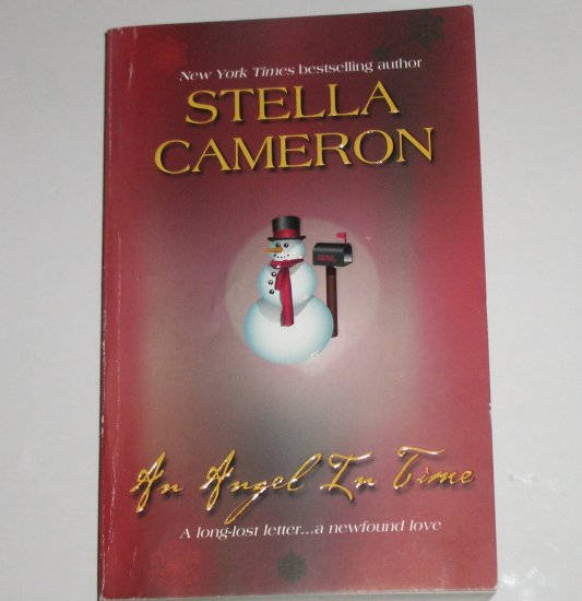 An Angel in Time by STELLA CAMERON Magical Romance Paperback 1991