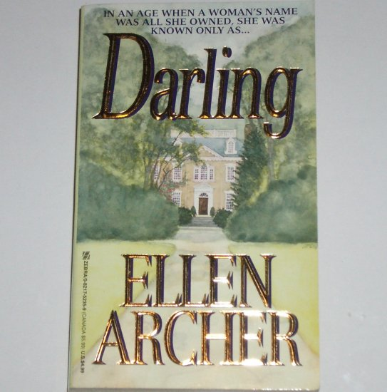 Darling by ELLEN ARCHER Zebra Lovegram Historical Romance 1996