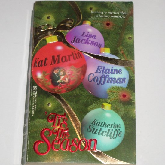 'Tis the Season by LISA JACKSON, KAT MARTIN, ELAINE COFFMAN, KATHERINE SUTCLIFFE 4 in 1 Romance 1997