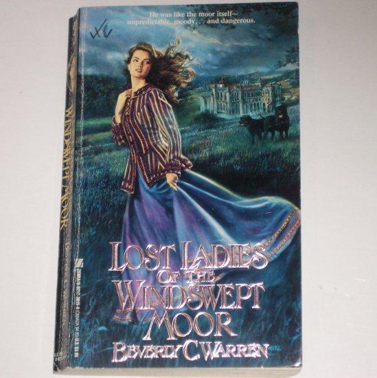 Lost Ladies of the Windswept Moor by BEVERLY C. WARREN Zebra Gothic Romance 1990