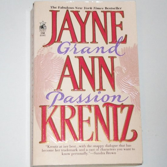 Grand Passion by JAYNE ANN KRENTZ Contemporary Romance Paperback 1994