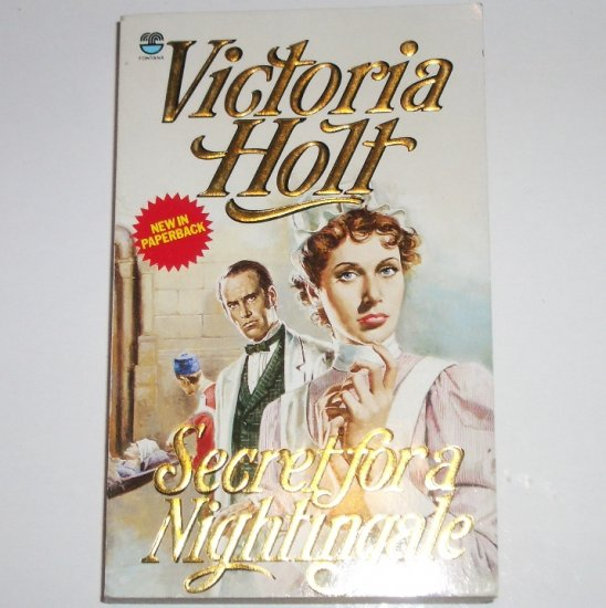 Secret for a Nightingale by Victoria Holt Romantic Suspense Paperback 1987