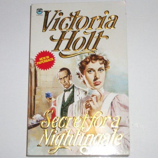 Secret for a Nightingale by Victoria Holt Romantic Suspense Paperback 1987