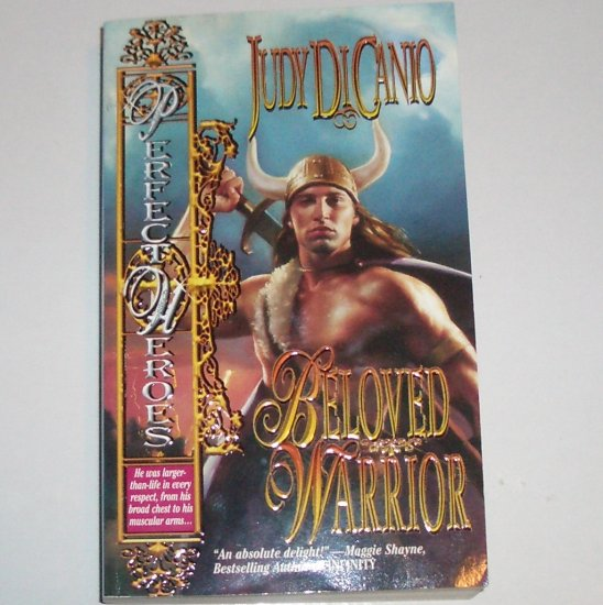 Beloved Warrior by JUDY DiCANIO Viking Fantasy Time Travel Romance Paperback 1999 Signed!