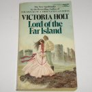 Lord of the Far Island by Victoria Holt Gothic Romance Paperback 1975
