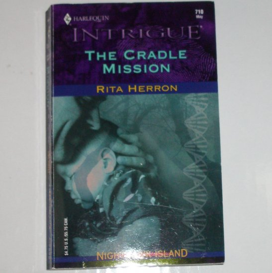 The Cradle Mission by RITA HERRON Harlequin Intrigue 710 May03 Nighthawk Island