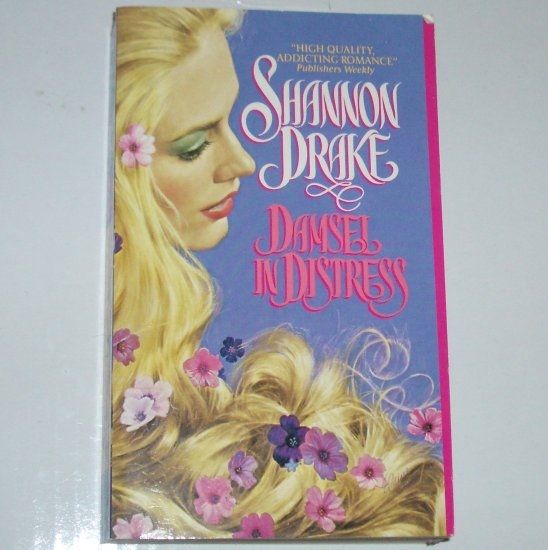 Damsel in Distress by SHANNON DRAKE Historical Medieval Romance 1992