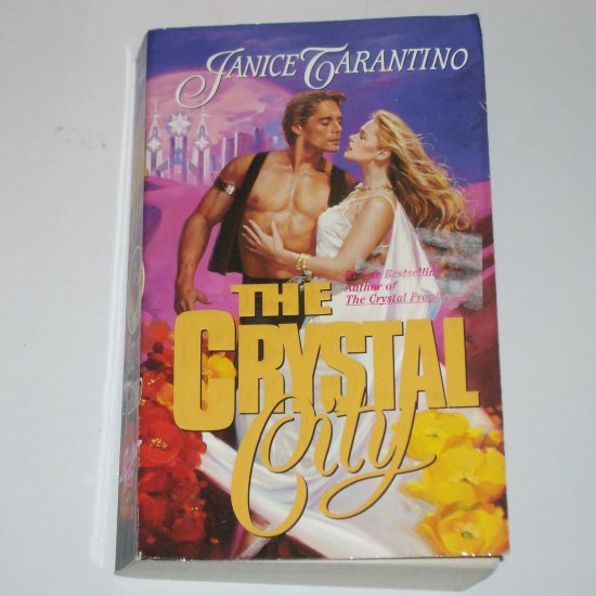 The Crystal City by JANICE TARANTINO Futuristic Time Travel Paranormal Romance Paperback 1996