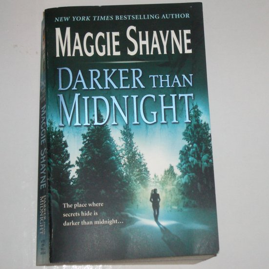 Darker Than Midnight by MAGGIE SHAYNE Romantic Suspense Paperback 2005