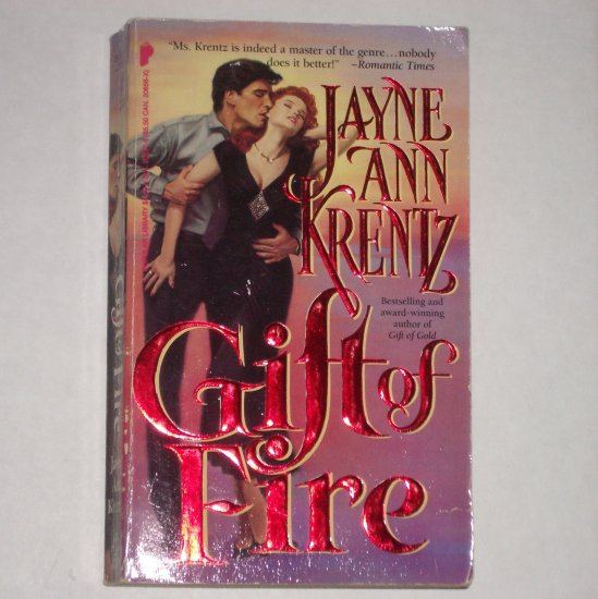 Gifts of Fire by JAYNE ANN KRENTZ Romance & Suspense Paperback 1989