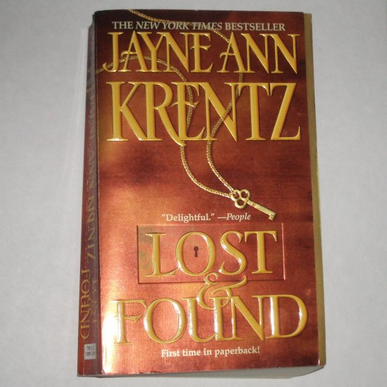 Lost and Found by JAYNE ANN KRENTZ Romance & Suspense Paperback 2001