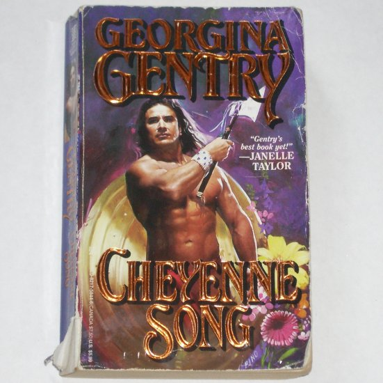 Cheyenne Song by GEORGINA GENTRY Historical Indian Romance Paperback 1998