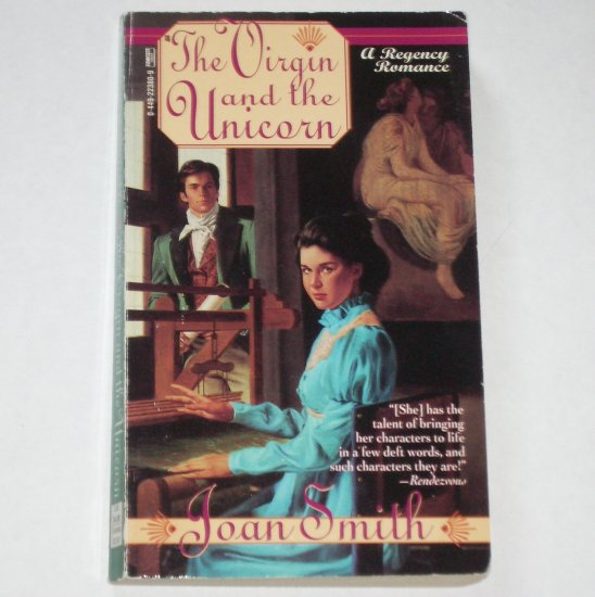 The Virgin and the Unicorn by JOAN SMITH Fawcett Historical Regency Romance Paperback 1995