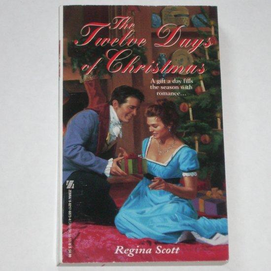 The Twelve Days of Christmas by REGINA SCOTT Zebra Historical Regency Romance Paperback 1998