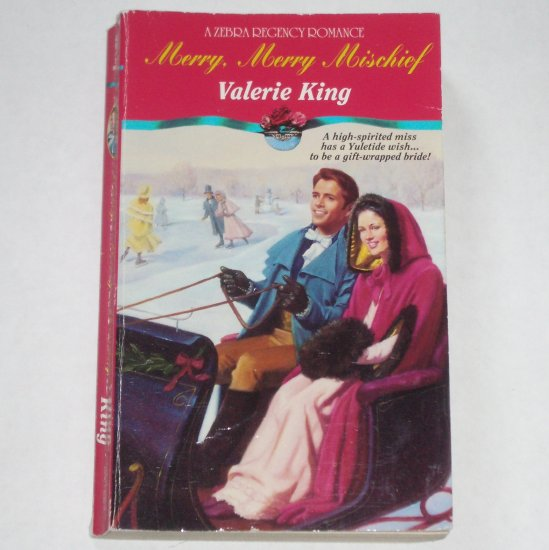 Merry, Merry Mischief by VALERIE KING Zebra Historical Regency Romance Paperback 1994