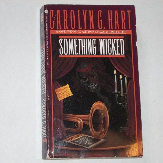 Something Wicked by CAROLYN HART A Death on Demand Mystery Paperback 1988