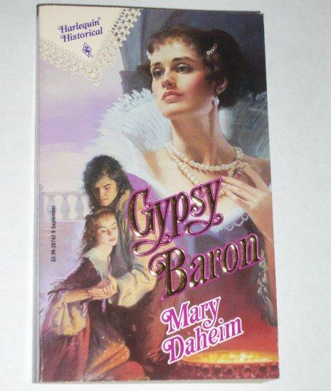 Gypsy Baron by MARY DAHEIM Harlequin Historical Renaissance Romance No 142 1992