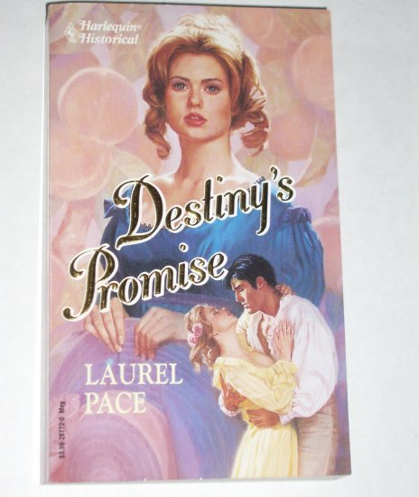 Destiny's Promise by LAUREL PACE Harlequin Historical Western Romance No 172 1993