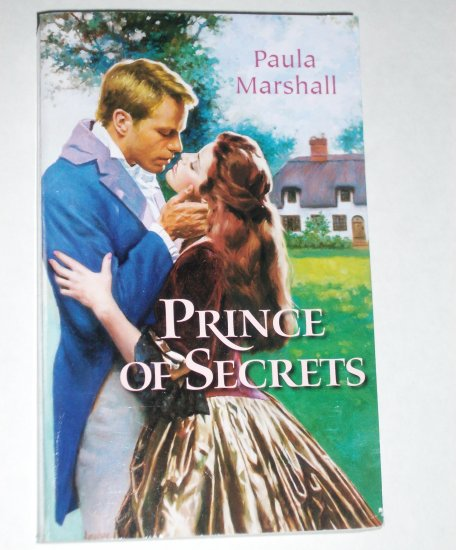 Prince of Secrets by PAULA MARSHALL Harlequin Historical Victorian Romance Paperback 2001