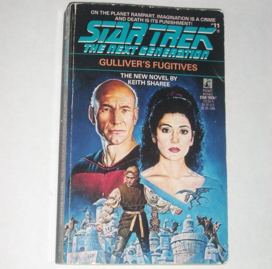 Gulliver's Fugitives Star Trek The Next Generation #11 by KEITH SHAREE