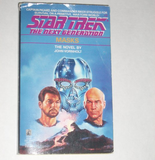 Masks ~ Star Trek The Next Generation #7 by JOHN VORNHOLT