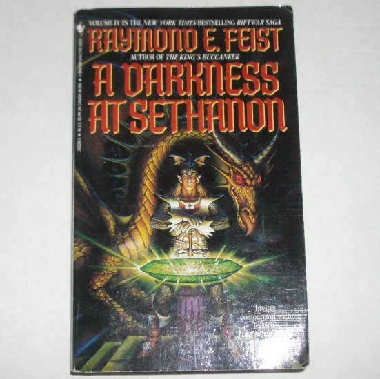 A Darkness at Sethanon by RAYMOND E. FEIST Paperback 1994 Volume IV in the Riftwar Saga