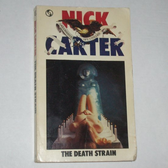 The Death Strain by NICK CARTER A Killmaster Spy Chiller 1971